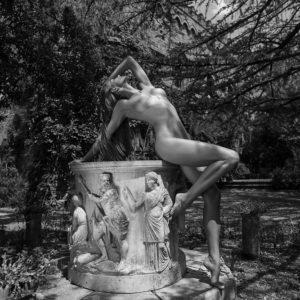 Acrylglas 3mm starke   Künstlerische exklusiv schwarz-weiß Aktfoto Poster nude Acrylglasbild A131 Künstler: Aleksandr Lishchinsk