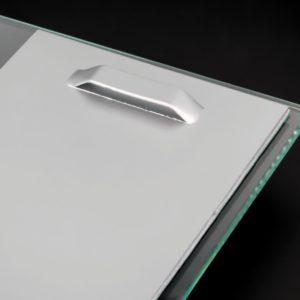 Bildbefestigung Acrylglasbild Halter für Bilder selbstklebend bis 12 kg 100x200 mm Lieferumfang: Bilderhaken bis 12 kg1 x Bi