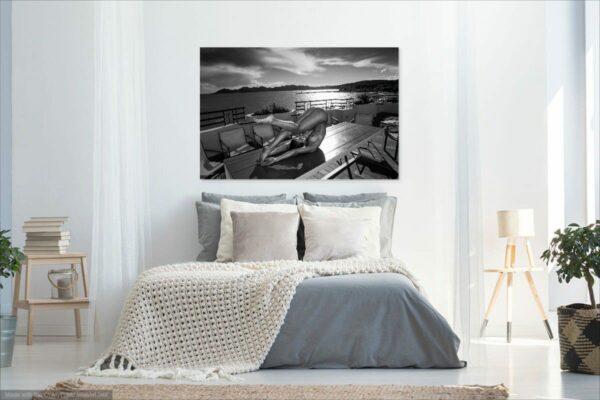 Künstlerische Aktfoto A192 Premium Wandbild Poster Acryl PlumaArt nackte Frau, Wandbild PlumaArt