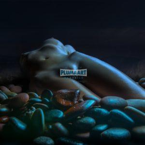 Acrylglas 3mm starke   Künstlerische Aktfoto L005 Premium Wandbild Poster Acryl PlumaArt nackte Frau Künstler: Aurimas Valeviciu