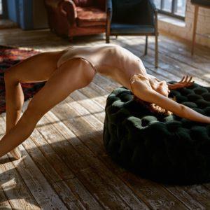 Acrylglas 3mm starke   Körperhaltung schön sexy Ballerina Möbel Wandbild Poster Acryl PlumaArt 06P19 Künstler:Georgy Chernyadye