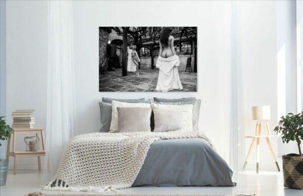 Künstlerische Aktfoto A058 Premium Wandbild Poster Acryl PlumaArt nackte Frau, Wandbild PlumaArt